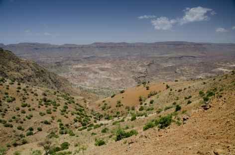 Route entre Lalibela et Mekele - Ethiopie -