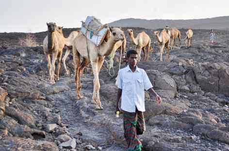 Descente du volcan Erta Ale - Ethiopie -