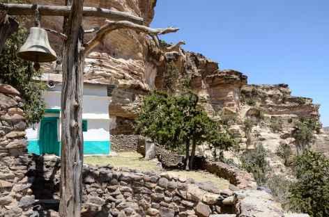 Eglise-grotte de Mikaël Debre Salam, massif de l'Atsbi - Ethiopie -