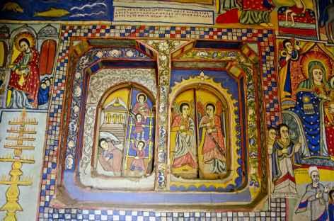 Eglise orthodoxe sur une des îles du Lac Tana - Ethiopie -