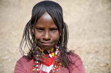 Jeune afar, dépression du Danakil - Ethiopie -