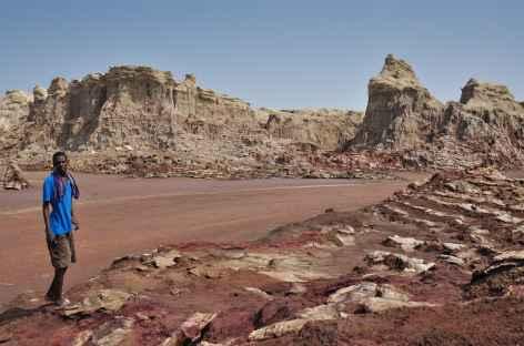 Canyon de sel, à proximité du Dallol - Ethiopie -