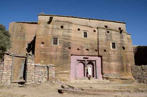 Eglise monolithique de Mikaël Imba, massif de l'Atsbi - Ethiopie -