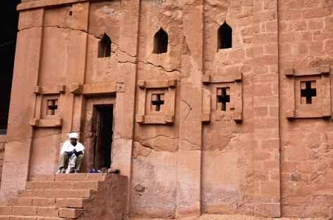 Eglise de Lalibela, Ethiopie -