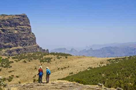 Trek entre Imet Gogo et Inatye, montagnes du Simien - Ethiopie -
