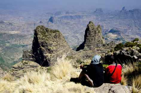 Belvédère d'Imet Gogo, montagnes du Simien - Ethiopie -