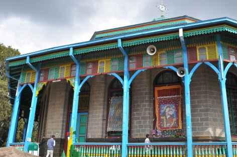 Eglise Sainte Marie, sur la colline d'Entoto à Addis Abeba - Ethiopie -