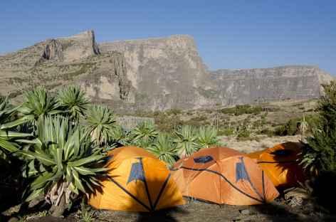 Camp de Chennek (3600 m), massif du Simien - Ethiopie -