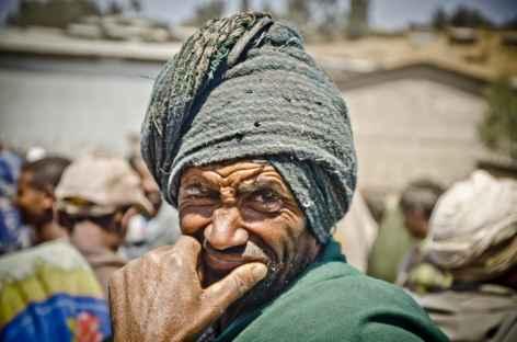 Sur un marché - Ethiopie -