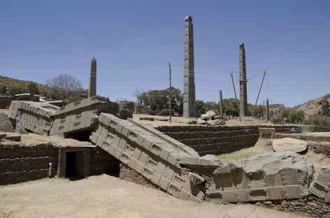 Stèles d'Axoum - Ethiopie -