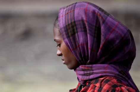 Jeune femme ahmara -