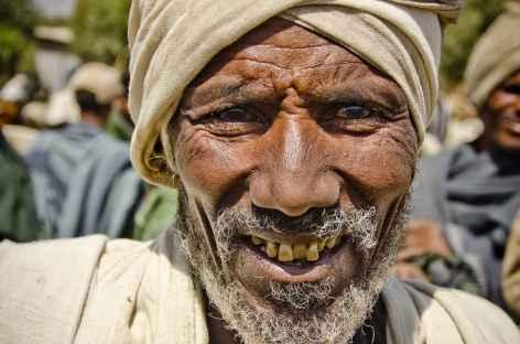 Un amhara au marché - Ethiopie -