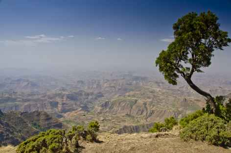 Trek vers Sankaber, massif du Simien - Ethiopie -