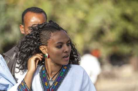 Belle femme amhara - Ethiopien -
