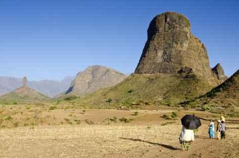Région d'Hawaza, montagnes du Simien - Ethiopie -