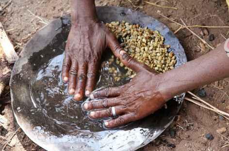 Café éthiopien, tout un rituel - Ethiopie -
