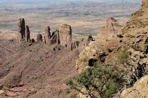 Magnifiques aiguilles de Tewelehe, massif du Gheralta - Ethiopie -