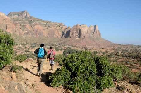 Trek entre Gudele et Kemer, massif du Gheralta - Ethiopie -