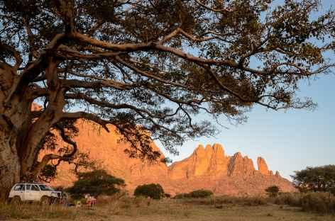 Notre camp à Gudele, massif du Gheralta - Ethiopie -