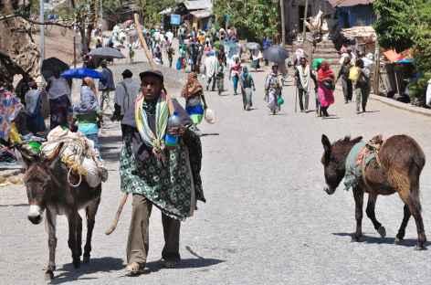 Marché à Lalibela - Ethiopie -