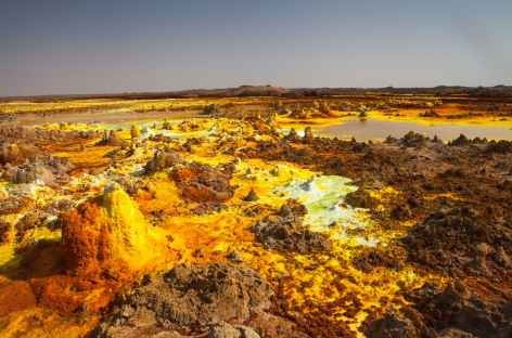 Site volcanique du Dallol - Ethiopie -