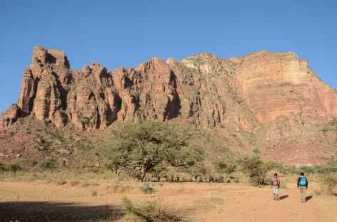 Aiguilles de Dasembet, massif du Gheralta - Ethiopie -