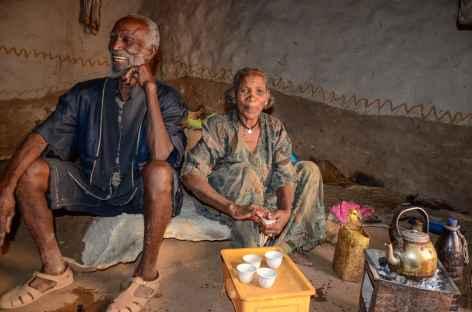 Café chez l'habitant, massif du Gheralta - Ethiopie -