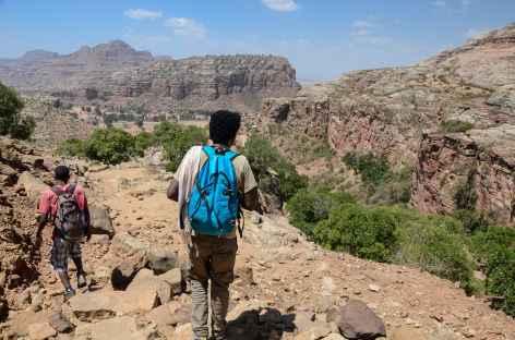 Trek vers Debre Tsion, massif du Gheralta - Ethiopie -
