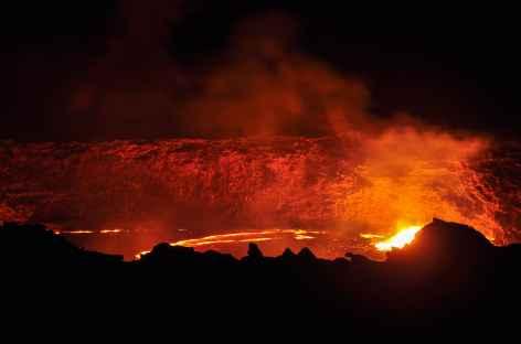 Volcan Erta Ale, dépression du Danakil - Ethiopie -