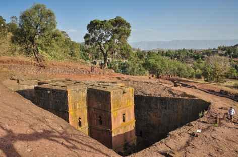 Eglise Saint Georges, Lalibela - Ethiopie -