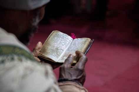 Prêtre à Lalibela - Ethiopie -