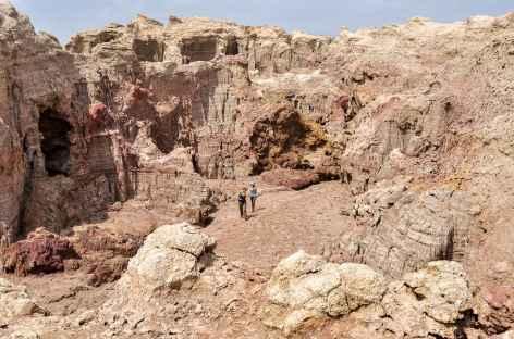 Canyon de sel, dépression du Danakil - Ethiopie -