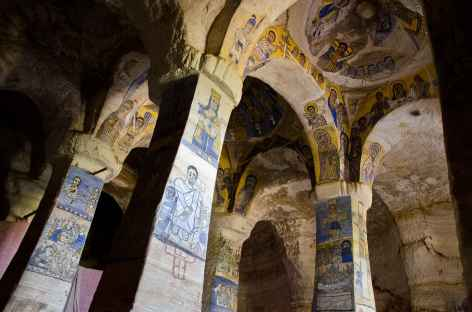 Eglise d'Abuna Gebre Mikael, massif du Gheralta - Ethiopie -