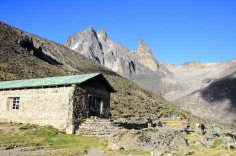 Refuge de Teleki (4200 m), masif du Mont Kenya - Kenya -