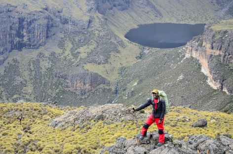 Gorge Valley, Mont Kenya - Kenya -