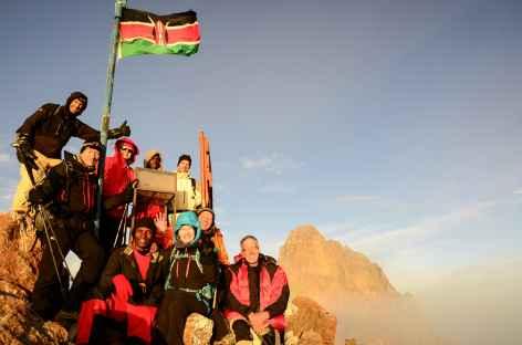 Au sommet du Mont Kenya, Pointe Lenana (4985 m) - Kenya -