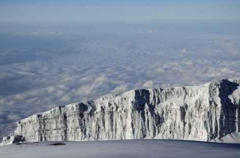 Glaciers sommitaux du Kili - Tanzanie -