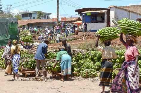 Marché au village de Chogoria - Kenya -