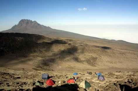 Camp de Barafu (4600 m), Kilimanjaro - Tanzanie -