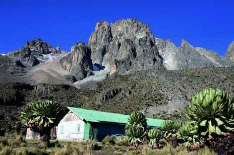 Refuge de Shipton's Camp (4200 m), Mont Kenya - Kenya -