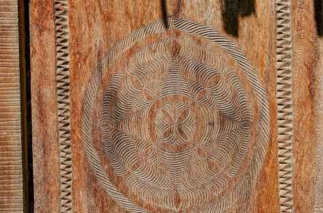 Artisanat du bois à Ambositra - Madagascar -