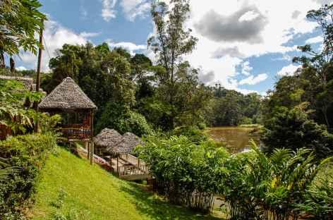 Notre lodge, aux portes du parc d'Andasibe - Madagascar -