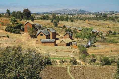 Village des hautes terres malgaches -