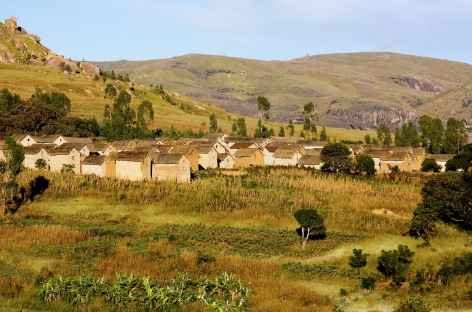 Village des hautes terres - Madagascar -