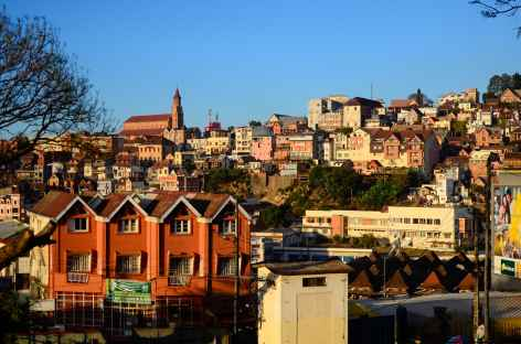 Ville haute de Tana, capitale de Madagascar -