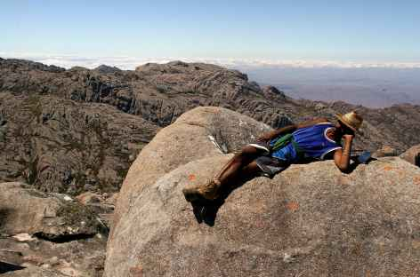 Notre guide local dans le massif de l'Andringitra - Madagascar  -