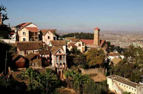 Ville haute d'Antananarivo - Madagascar -