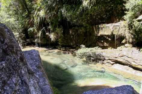 Piscine naturelle dans le massif de l'Isalo - Madagascar -