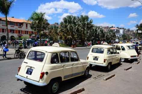 Centre-ville de Tana, capitale de Madagascar -