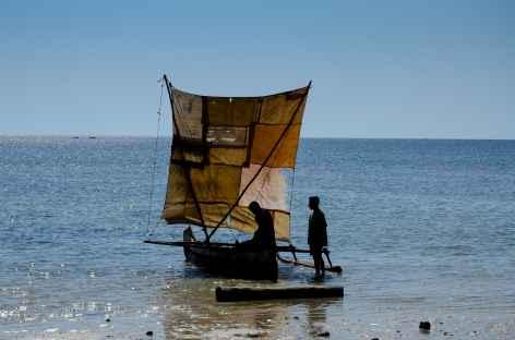 Plage d'Ifaty, côte ouest de Madagascar -
